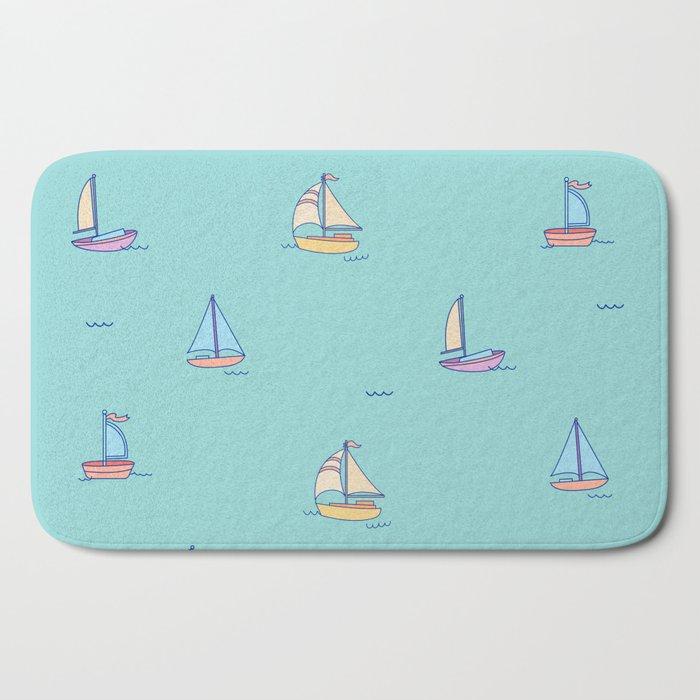 Come Sail Away Bath Mat