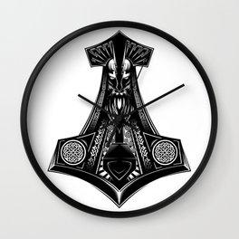 Thor's Hammers (Mjölnir) Wall Clock