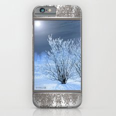 Hoar Frost on the Lilac Bush Slim Case iPhone 6s