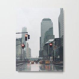 Sleepless City Metal Print