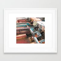 jeep Framed Art Prints featuring Jeep by Mario Sa