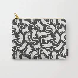 WHITE CATS Carry-All Pouch