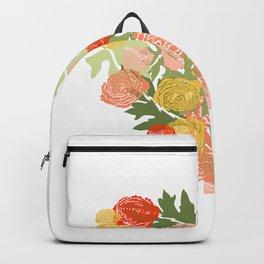 Ranunculus Heart Backpack