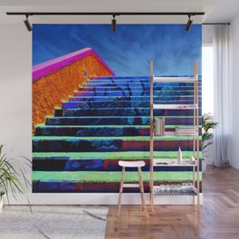 Fantasy Sci-Fi Stairs to Mystery Wall Mural
