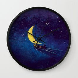 Stars Sailor Wall Clock