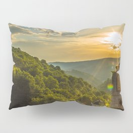 Monastery in Macedonia Pillow Sham