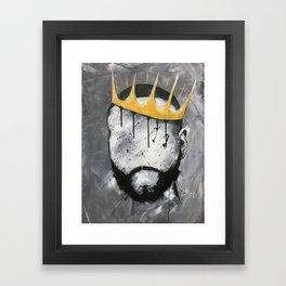 Naturally King Framed Art Print