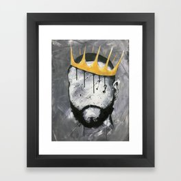 Naturally King Framed Art Print