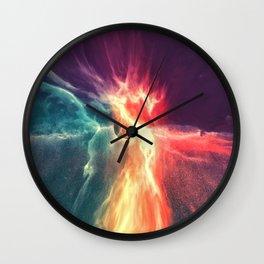 Deep space No2 Wall Clock