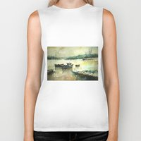 istanbul Biker Tanks featuring  Istanbul by Baris erdem