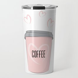 Coffee is my love Travel Mug