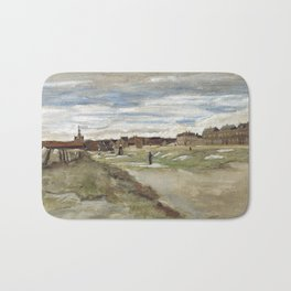 Vincent van Gogh - Bleaching Ground at Scheveningen Bath Mat