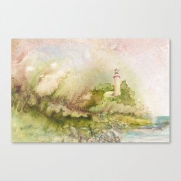 Summertime at Point Aux Barq Canvas Print