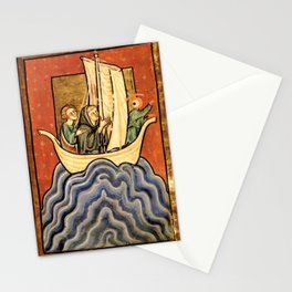 ship of fool ojolo Stationery Cards
