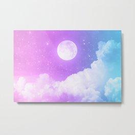 Moon Moon Metal Print