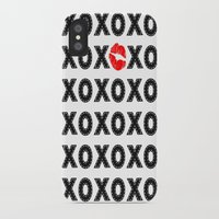 xoxo iPhone & iPod Cases featuring XOXO by DuniStudioDesign
