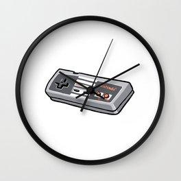 NES controller Wall Clock