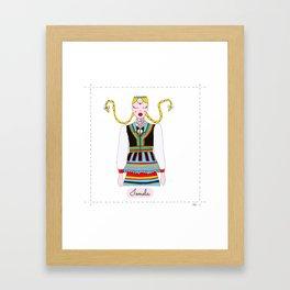 IONELA Framed Art Print