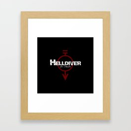 Helldiver of Lykos Framed Art Print