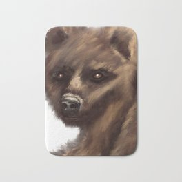 Brown Bear Bath Mat