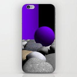 go violet -09- iPhone Skin