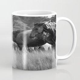 Mares - B&W Coffee Mug