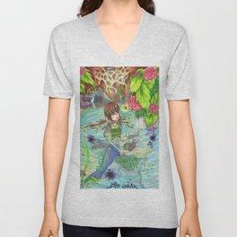 Mermaid Escape Unisex V-Neck