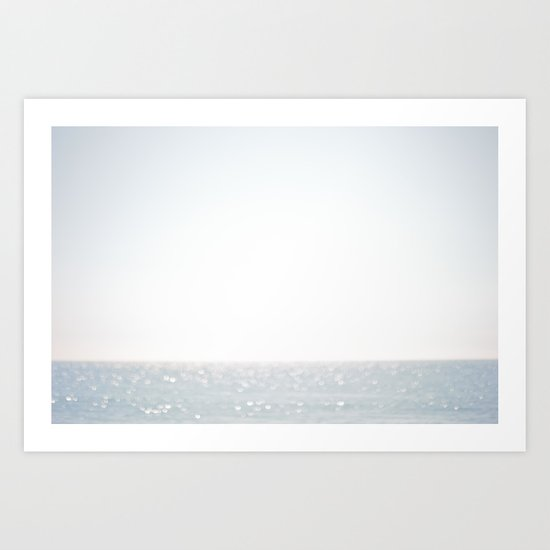 a summer day Art Print