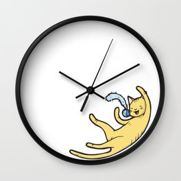 The Tabby 'Playtime' Wall Clock