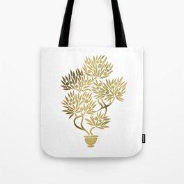 Bonsai Fruit Tree – Gold Palette Tote Bag