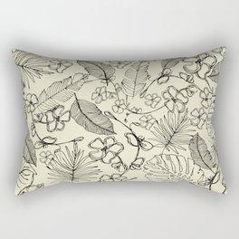 Tropical doodle Rectangular Pillow
