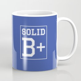 """Solid B+"" Coffee Mug"