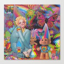 Troll Dolls Canvas Print