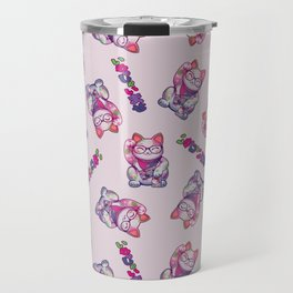 Maneki Neko Cotton Travel Mug
