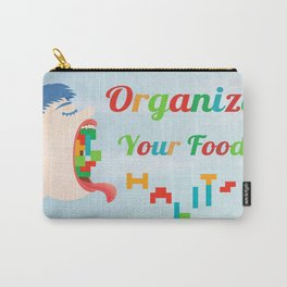 Organize Your Food Habits Carry-All Pouch