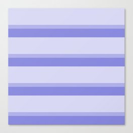 blue stripes faded modern home pattern Canvas Print