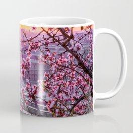 Cherry Blossom Bridge Coffee Mug