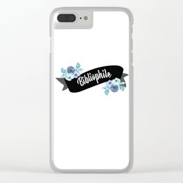 Bibliophile Clear iPhone Case