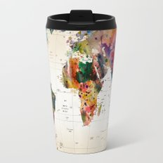 map Travel Mug