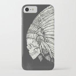 Indian Skull iPhone Case