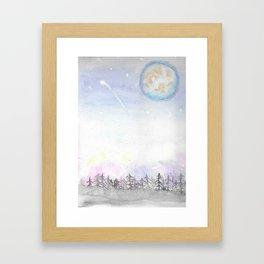 Colors of the Sky Framed Art Print