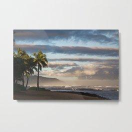 North Shore Hawaii Metal Print