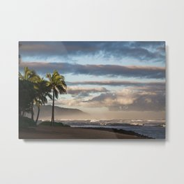 North Shore Hawaii Metal Print