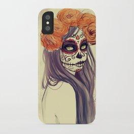 Catrina iPhone Case