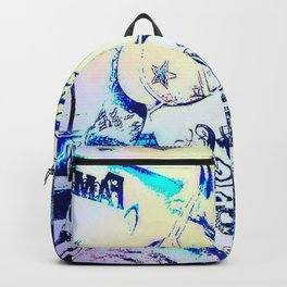 Tatoo mod lightblue4 Brit Backpack