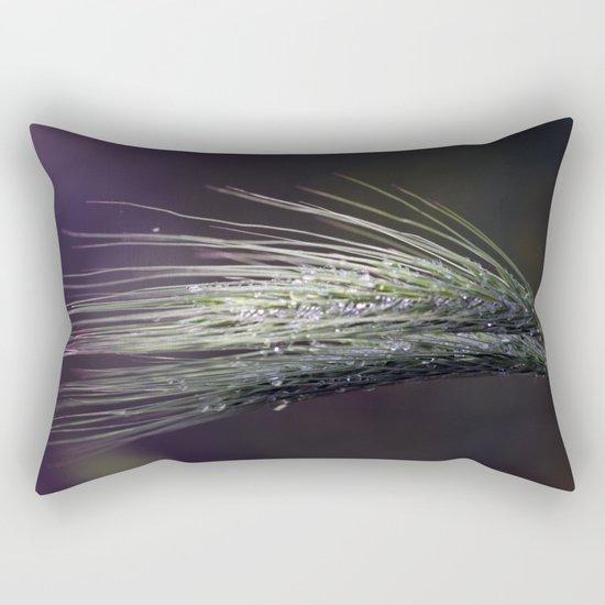 gocce di rugiada Rectangular Pillow