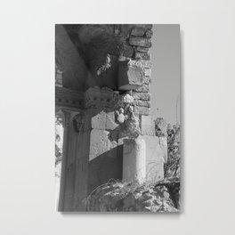 Roman Ruins in Israel Metal Print