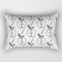 forbidden fruit Rectangular Pillow