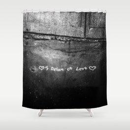 New York City I Dream of Love Shower Curtain