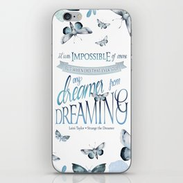 IT WAS IMPOSSIBLE OF COURSE iPhone Skin